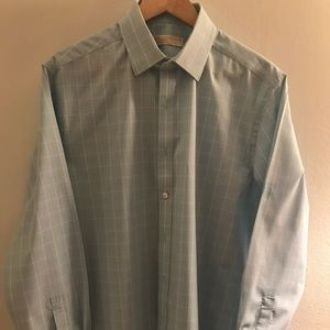 Michael Kors Men's Dress Shirt Size 16-1/2 34/35
